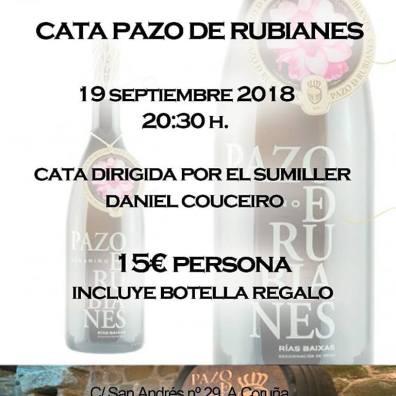 CATA PAZO DE RUBIANES